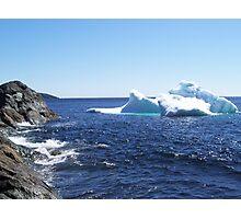 Iceberg...at the beach Photographic Print