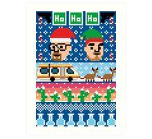 Breaking Christmas - Ugly Christmas Sweater Art Print