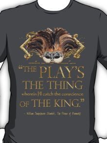 Shakespeare Hamlet Play Quote T-Shirt