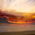 Olympic Coast Sunset (9040) by Barry L White