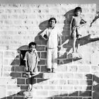 The Posing Wall by wellman
