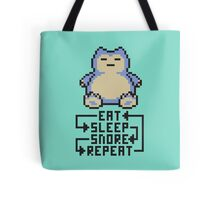 The Snorlax Song Tote Bag