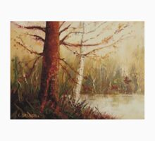 MOST POPULAR CANADIAN PAINTINGS AND PRINTS TREE AT RIVER'S EDGE CANADIAN ART T-Shirt