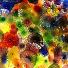 Glass Flowers by Debra LINKEVICS