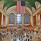 Grand Central Station New York by Jane Smith