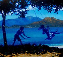 Picnic Bay Swing by Cary McAulay