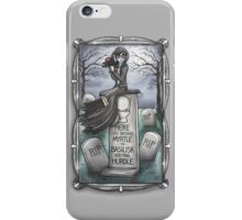 Grim Grinning Myrtle iPhone Case/Skin