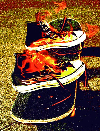 FLAMEN' SHOES by JPsShots