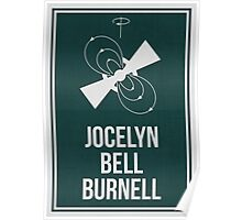 JOCELYN BELL BURNELL - Women in Science Collection Poster