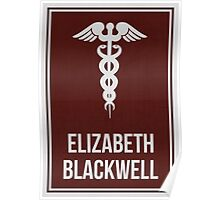 ELIZABETH BLACKWELL - Women in Science Collection Poster