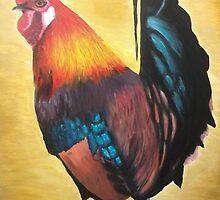 Magnificent Cockerel  by NicoleJadeArt