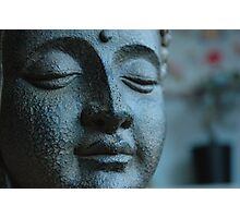 Buddha, in Blue. Photographic Print