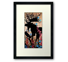 AK the Smudge Way Framed Print