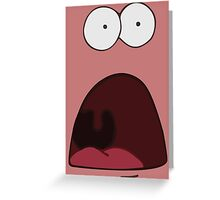 Patrick The Star Greeting Card
