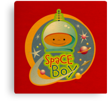 Space Boy! Canvas Print