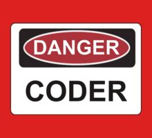 Danger Coder - Warning Sign by graphix