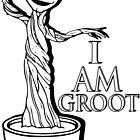 I Am Groot  by Zak-Karle