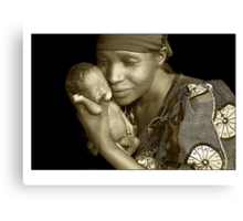 Mother & Child by Melinda Kerr and Rebecca Zachariah Canvas Print