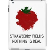 Strawberry Fields iPad Case/Skin