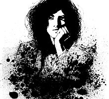 Jimmy Page by Aleksandra Kurczewska