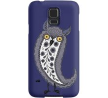 Paisley Night Owl Samsung Galaxy Case/Skin