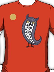 Paisley Night Owl T-Shirt