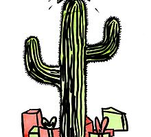 Xmas Saguaro by El Rey