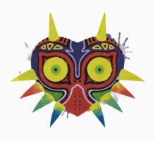 Majora's Mask Splatter (No Background) Kids Clothes