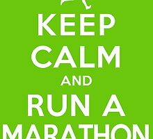 Keep Calm and Run a Marathon Male (DS) by rachaelroyalty