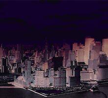 New York NIght by Simon  Mattocks