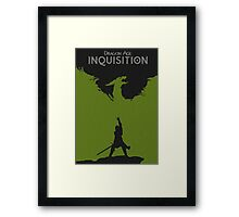Dragon Age Inquisition Framed Print