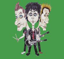 Punk Rock Caricature Drawing by MMPhotographyUK