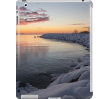 Small Cove Pink and Snowy Dawn iPad Case/Skin