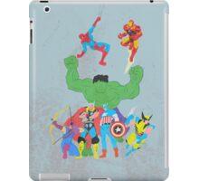 marvel superheroes iPad Case/Skin