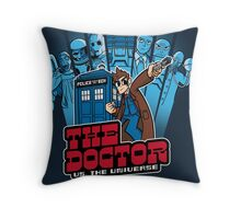 Doctor Pilgrim 10th Edition Throw Pillow