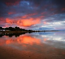 Lake Albert Sunrise by KathyT