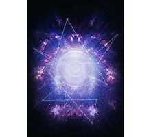 Abstract colossal space Sign! Photographic Print