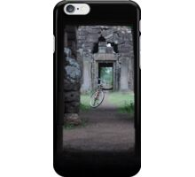 The bicycle & the ruins iPhone Case/Skin