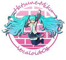 Hatsune Miku Vocaloid 01 by TheSkyIsUp