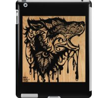 Oil Lace Wolf iPad Case/Skin
