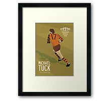 Michael Tuck, Hawthorn Clean As A Whistle version Framed Print