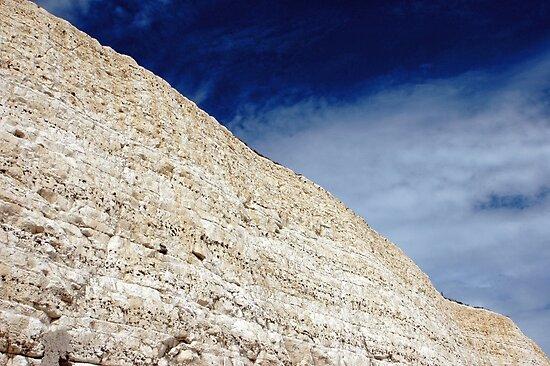 cliff & sky by Steve