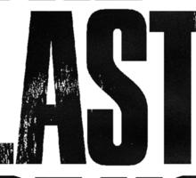 The Last of Us (title) (black) Sticker