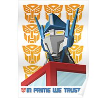 In Prime We Trust Poster