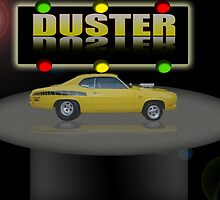 Duster Poster by Jason Caswell