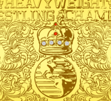 World Heavyweight Champion Sticker