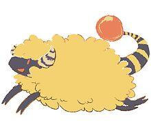 Mareep the Sheep by emilyminerart