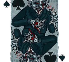 Vampire Jack of Spades by pixbyr