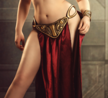Slave Leia Sticker