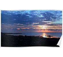 St John's Point Sunrise Poster